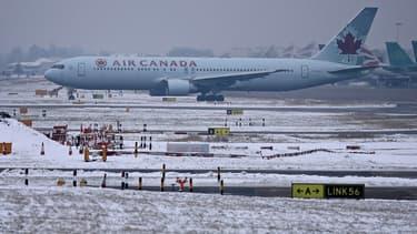 Un appareil d'Air Canada a fait une sortie de piste. (Image d'illustration)