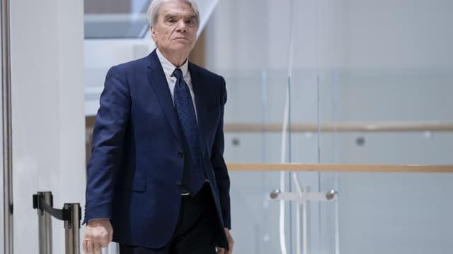 Bernard Tapie au tribunal correctionnel de Paris.