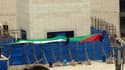 Le mausolée de Yasser Arafat au QG de l'autorité palestinienne.