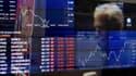 L'ensemble des Bourses mondiales ont souffert ce lundi. Ici celle de Sydney.