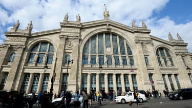 La gare du Nord à Paris.