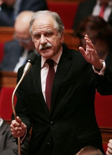 Noël Mamère, député-maire de Bègles, en Gironde, à l'Assemblée nationale, le 13 octobre 2015 à Paris