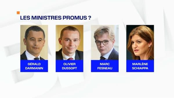 Les ministres susceptibles d'être promus lors du remaniement prévu début juillet 2020.