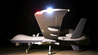 Un drone tueur MQ-9 Reaper de de l'US Air Force sur une base d'Afghanistan  (photo d'illustration)