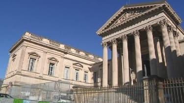 Le tribunal de Montpellier où se déroule le procès de Bernadette Colin.