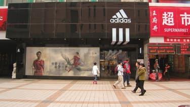 Adidas est déjà présent dans 1.000 villes en Chine