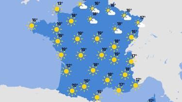 La journée du vendredi 23 avril sera ensoleillée sur une majeure partie du territoire et les températures repartiront à la hausse