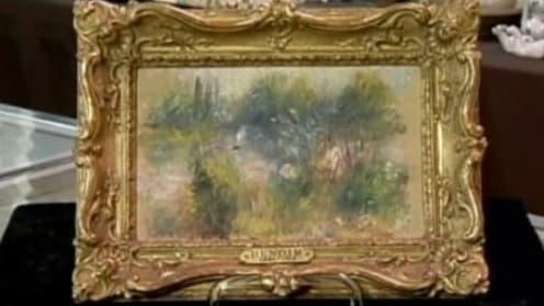 """""""Paysage Bords de Seine"""", d'Auguste Renoir."""