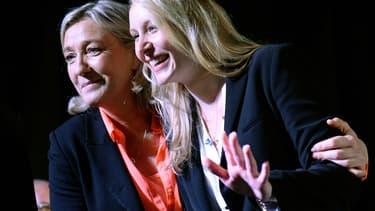 Marine Le Pen et Marion Maréchal Le Pen sont en position de gagner la présidence d'une région le 13 décembre prochain