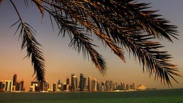 Une vue de la capitale du Qatar, Doha, en octobre 2012.