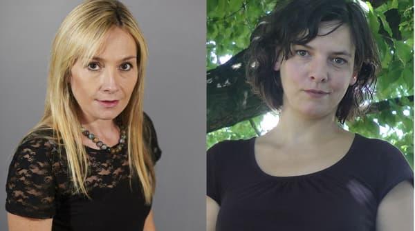 Marie-Hélène Broihanne (à gauche) et Valérie Dufour (à droite)