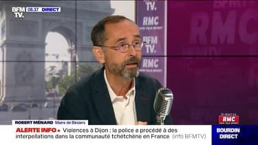 """Robert Ménard: """"Marine Le Pen va perdre"""" en cas de duel avec Emmanuel Macron en 2022"""