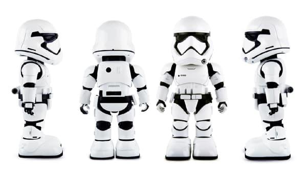 Le robot Star Wars Stormtrooper coûte 349,99 euros
