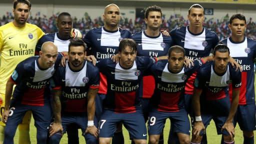 Le onze titualiare du PSG face à Bordeaux lors du Trophée des champions