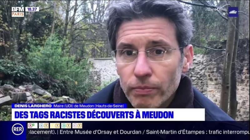 Meudon: des tags racistes découverts sur plusieurs édifices de la ville, le maire porte plainte