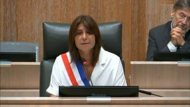 Michèle Rubirola, tout juste élue maire de Marseille