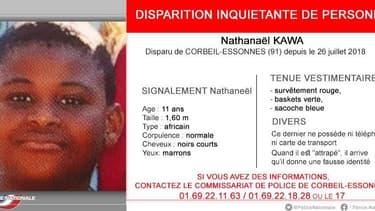 Un jeune ado de 11 ans a disparu depuis jeudi à Corbeil-Essonnes.