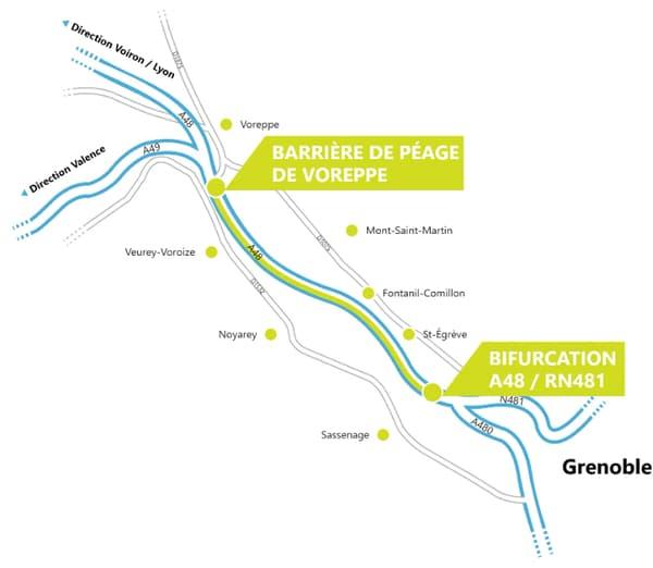 La voie de covoiturage sera opérationnelle en septembre 2020