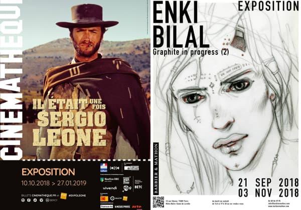 Sergio Leone et Enki Bilal