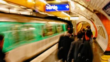 Les voleurs ont été pour la plupart interpellés en flagrant délit dans le métro.
