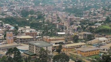 La ville de Bamenda au Cameroun.