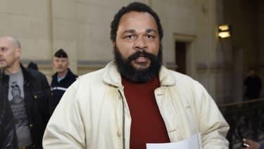 Dieudonné au tribunal à Paris en mars 2015.