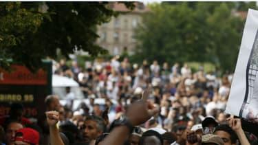 Manifestation pour la lumière soit faite sur les conditions de la mort du jeune Adama Traoré.