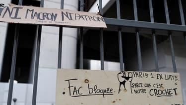 L'Université de Tolbiac a voté la reconduction du blocage
