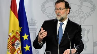 Mariano Rajoy, le 27 octobre.