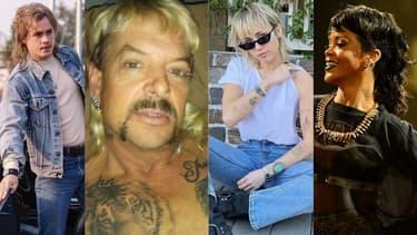 """Billy dans """"Stranger Things"""", Joe Exotic, Miley Cyrus et Rihanna ont adopté la coupe mulet"""