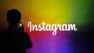 Instagram, l'application sociale de partage de photos, propriété de Facebook.