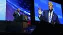 Donald Trump lors du congrès de la NRA à Dallas vendredi.