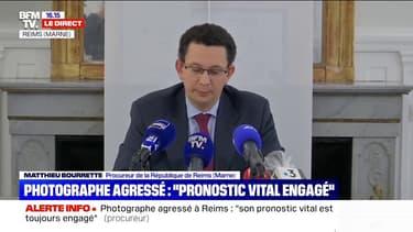 """Photographe agressé à Reims: """"Cette après-midi là, un groupe de 30 individus était en train de préparer un regroupement belliqueux"""", selon le procureur"""