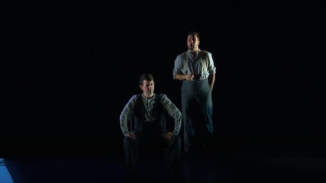 Deux artistes du English Touring Opera