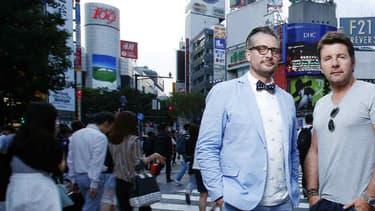 Le Tone, Philippe Lellouche et Bruce Jouanny prêts à vivre leur premier road trip au Japon