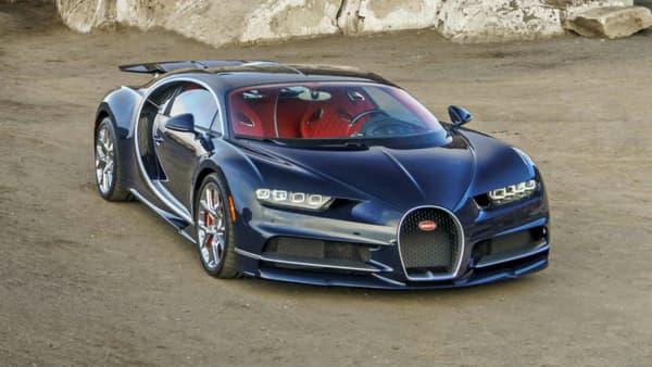 La Bugatti Chiron, à partir de 2,4 millions d'euros