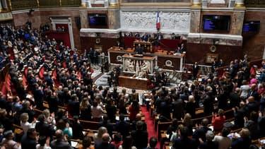 L'Assembée nationale, le 12 juin 2019 à Paris.