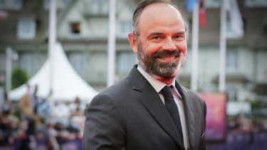 L'ex-Premier ministre et actuel maire du Havre, Edouard Philippe, à Deauville, le 4 septembre 2020
