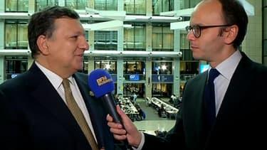 José Manuel Barroso, le président de la Commission européenne, a accordé un entretien exclusif à BFM Business en marge du G7 de Bruxelles.