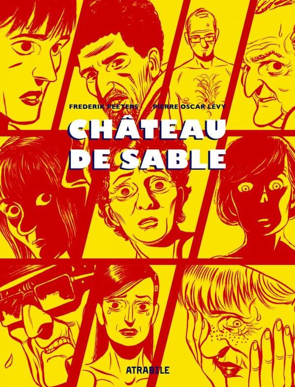 """Couverture de la nouvelle édition de """"Château de sable"""""""