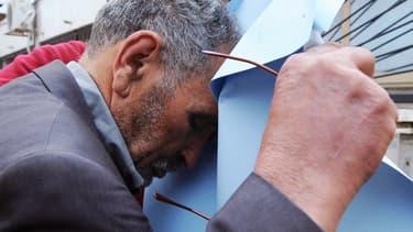 Mohamed Benalel Merah, le père de Mohamed Merah, à Alger en mars 2012.