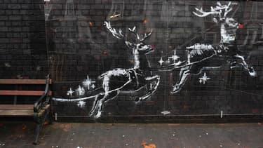 La nouvelle œuvre de Banksy