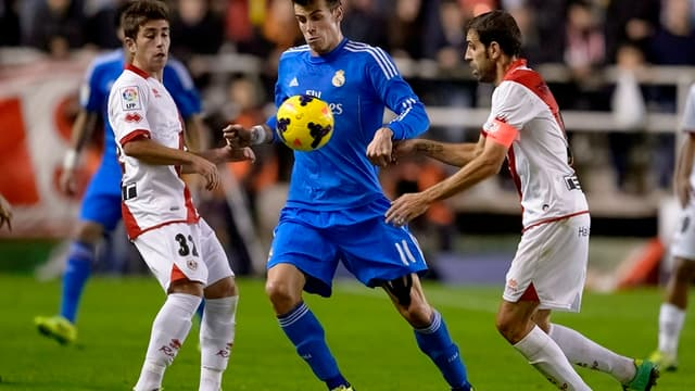 Gareth Bale face au Rayo Vallecano