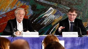 Dominique Maraninchi (à gauche) vient de prendre la tête de la nouvelle Agence du médicament