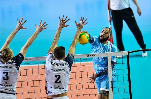 Earvin Ngapeth a échoué à remporter la Ligue des champions avec le Zenit Kazan