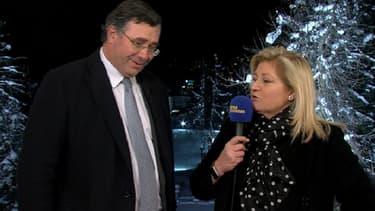 Patrick Pouyanné était l'invité de BFM Business, depuis Davos.