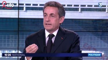 Nicolas Sarkozy, président de l'UMP, était l'invité de France 3 ce vendredi soir.