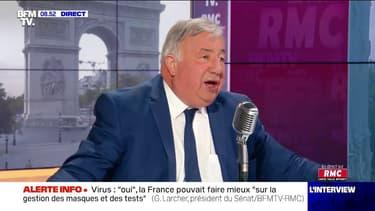 """Présidentielle: Gérard Larcher se dit """"favorable à des primaires"""" pour désigner le candidat Les Républicains"""