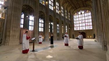 La chorale qui s'est produite lors des obsèques du prince Philip