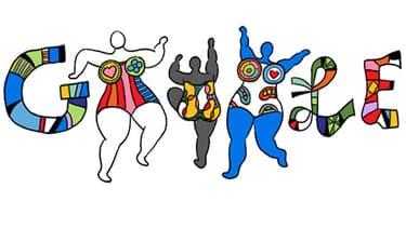 Google rend hommage à Niki de Saint Phalle en lui consacrant un doodle.